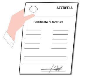Certificati Accredia LAT SIT