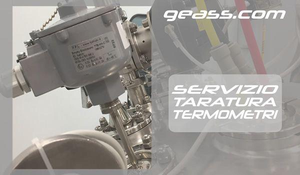 Servizio taratura calibrazione termometri geass torino