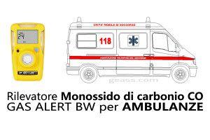 Rilevatore BW CLIP Monossido CO per Ambulanze Geass