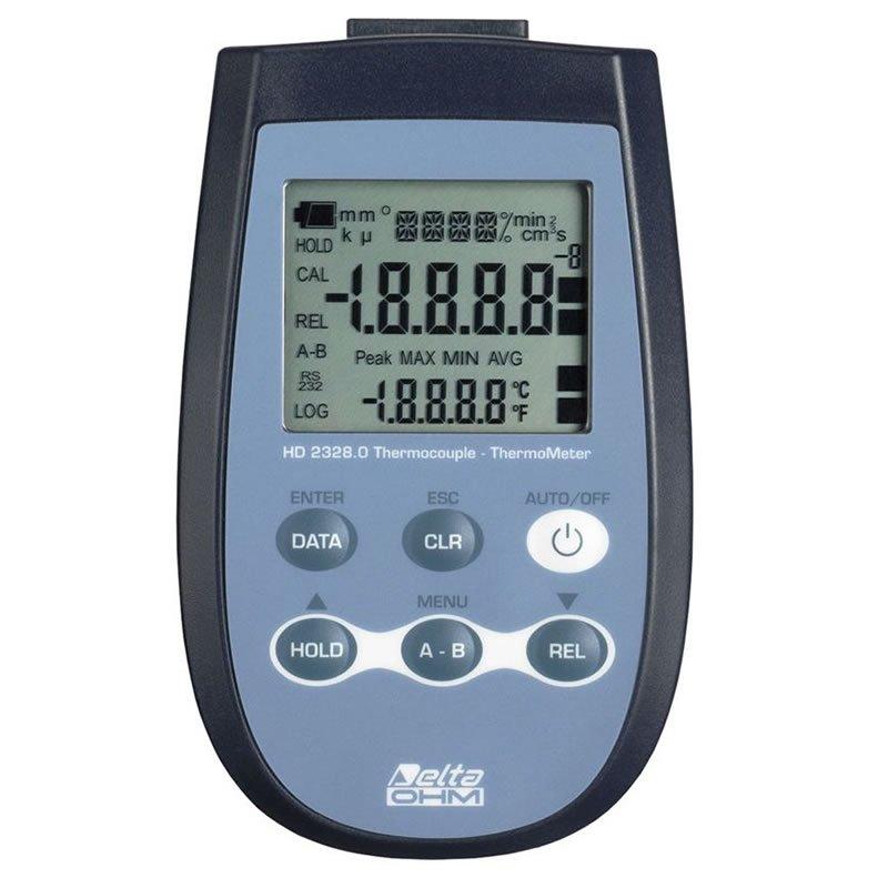 Termometro Termocoppia Delta Ohm HD 2328.0