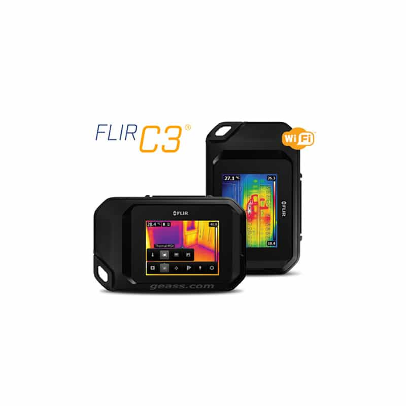 Termocamera-Flir-C3-Compatta-touch-screen Geass