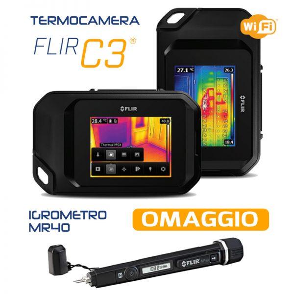 Termocamera Flir C3 MR40 in omaggio prezzo in offerta geass