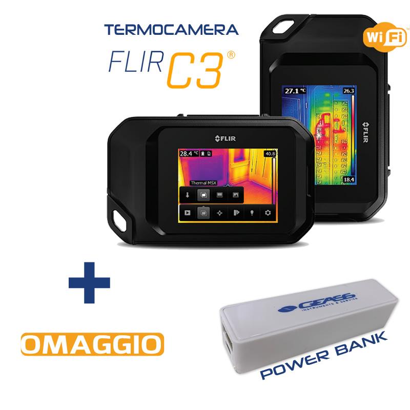 Termocamera flir C3 omaggio power bank_geass Torino
