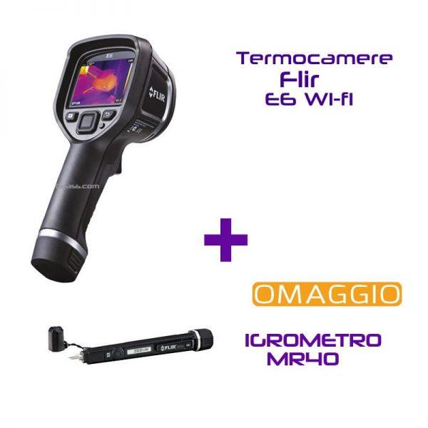 Termocamere Flir E6 Wi-fi MR40 in ommaggio offerta Geass