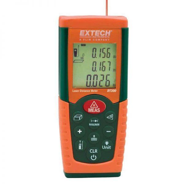 Livella Laser e distanza Extech DT 300 Geass
