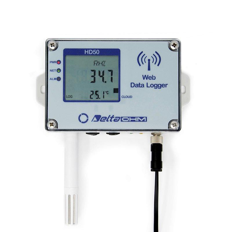 Datalogger Web Delta Ohm HD50 Temperatura umidita