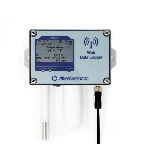Datalogger wireless Web Delta Ohm HD50 Temperatura umidita CO2