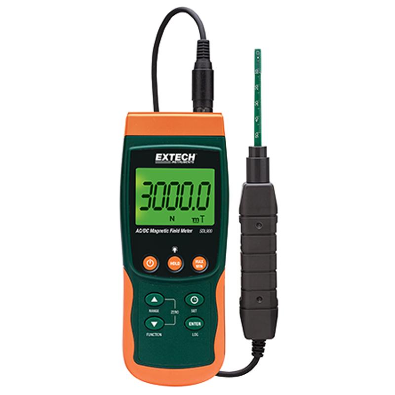Misuratore di campo magnetico Extech SDL900