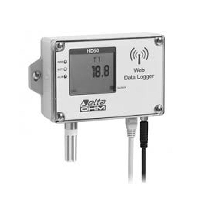 WEB datalogger Delta Ohm HD50 Temperatura