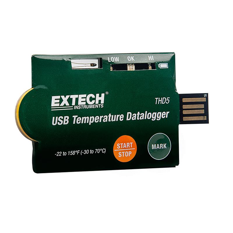 Datalogger di temperatura Extech THD5 Geass