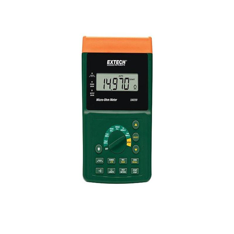 Misuratore micro-ohm UM200 Extech Geass