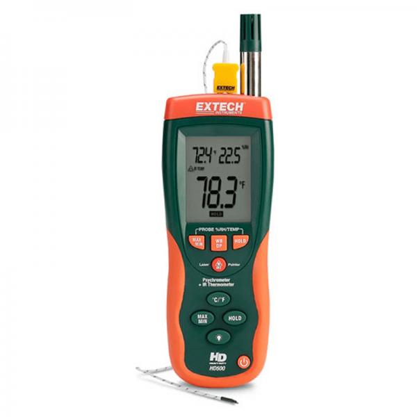 Psicrometro-termometro Extech HD500 Geass