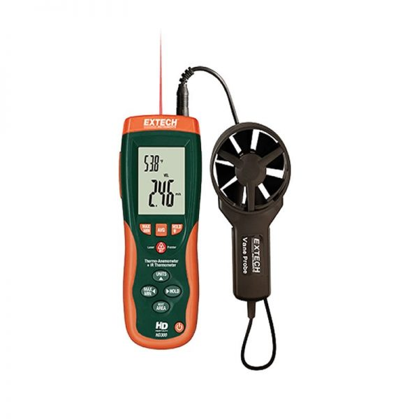 Termo-anemometro Extech HD300 Geass