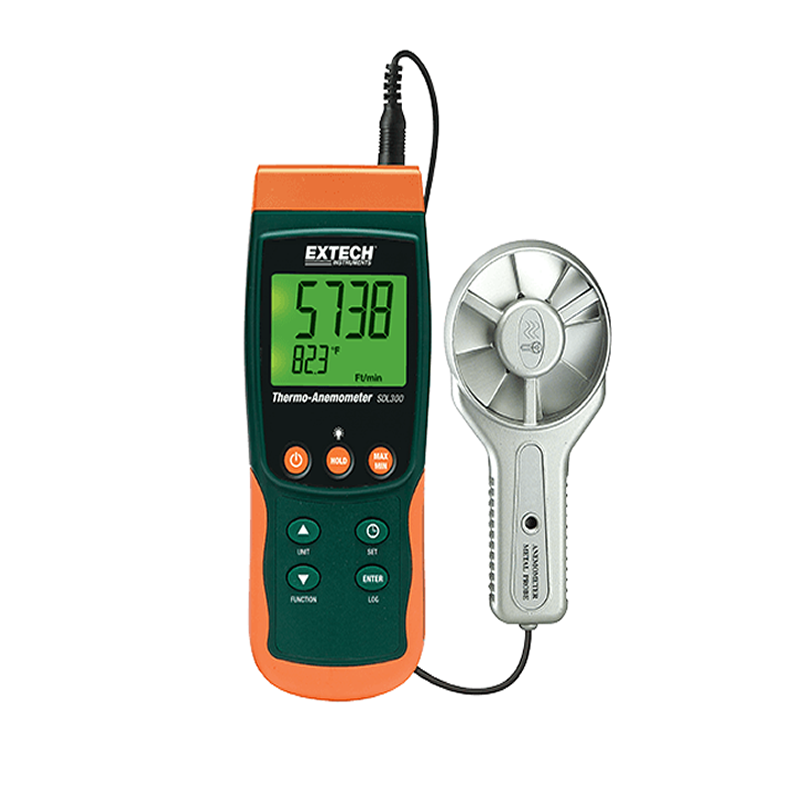 Termo-anemometro datalogger Extech SDL300