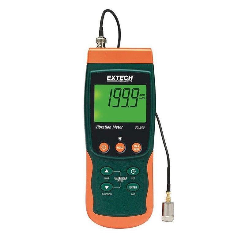 Vibrometro datalogger Extech SDL800 Geass