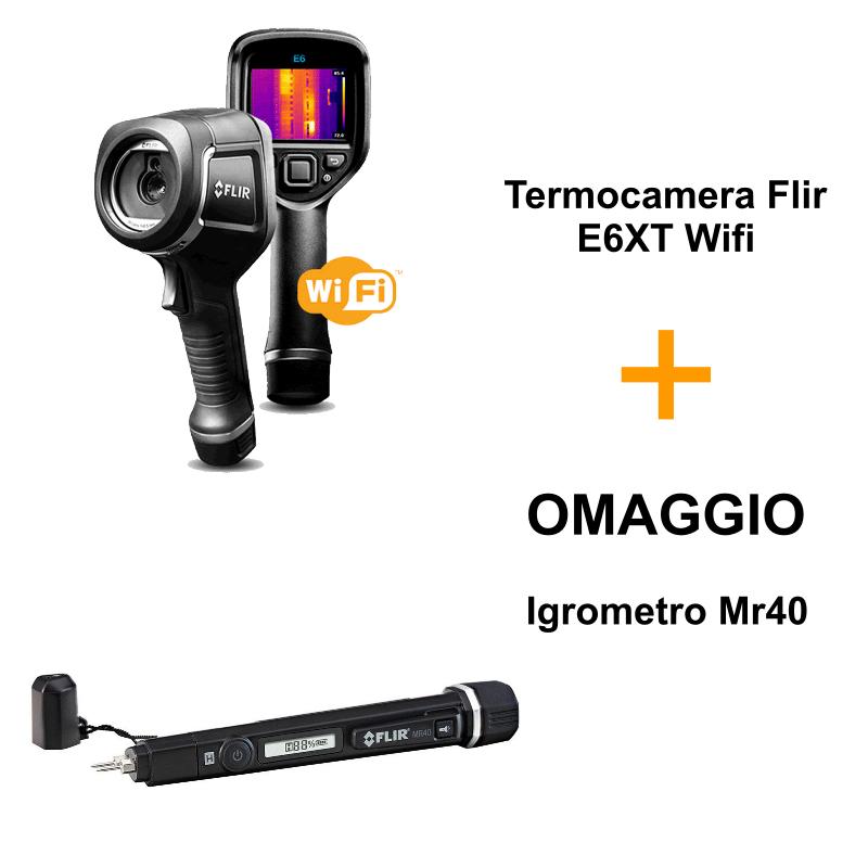 Termocamera-Flir-E6XT-omaggio-igrometro-mr40