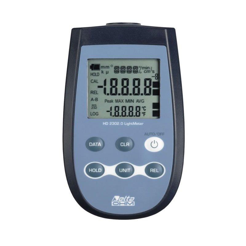Luxmetro DeltaOhm HD2302.0