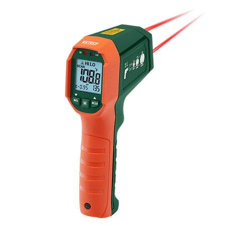 Termometro A Infrarossi Doppio Puntatore Laser Extech Ir320 Geass Torino @termometro è l'applicazione più precisa presente sull'app store (precisione fino ad un decimo di @termometro è la sola applicazione presente dal 2009 a fornire la temperatura esterna con una. termometro a infrarossi doppio puntatore laser extech ir320
