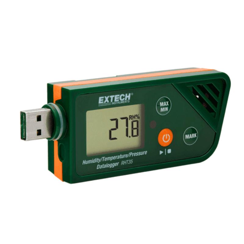 Termoigrometro Barometro Datalogger Extech RHT35