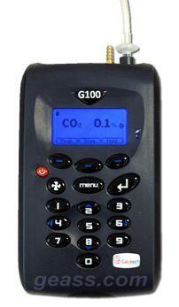 Analizzatore portatile CO2 Geotech G100 Geass