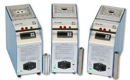 Fornetti portatili di calibrazione Temperatura Giussani Pyros