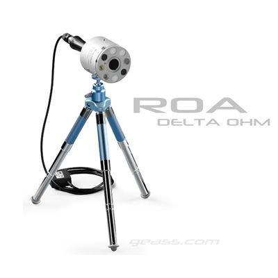 Misura Radiazioni ottiche artificiali ROA Delta-Ohm HD2402 geass torino