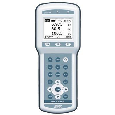 Strumento multiparametro per elettrochimica Delta Ohm HD98569 Geass Torino