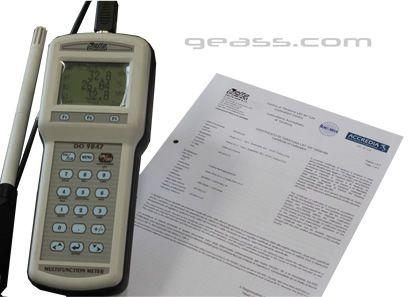 Certificato Accredia Temperatura umidita pressione ge3ass torino