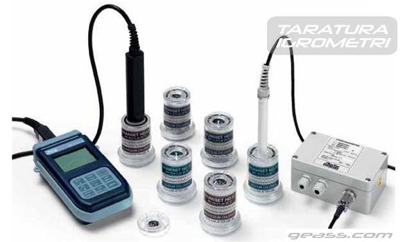 Servizio taratura calibrazione igrometri geass torino