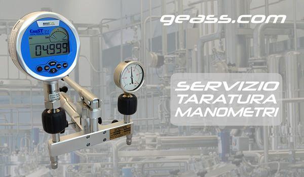 Servizio taratura calibrazione manometri geass torino