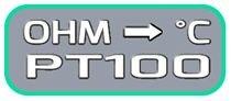 Tabella Conversione Ohm Gradi Celsius PT100