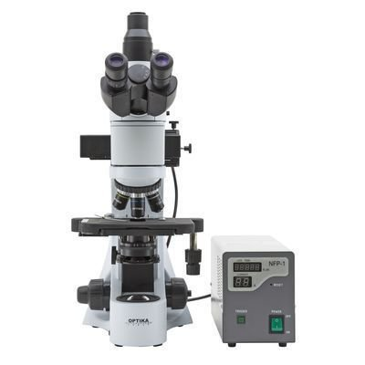 Microscopio Fluorescente OptikaB 383FL Geass
