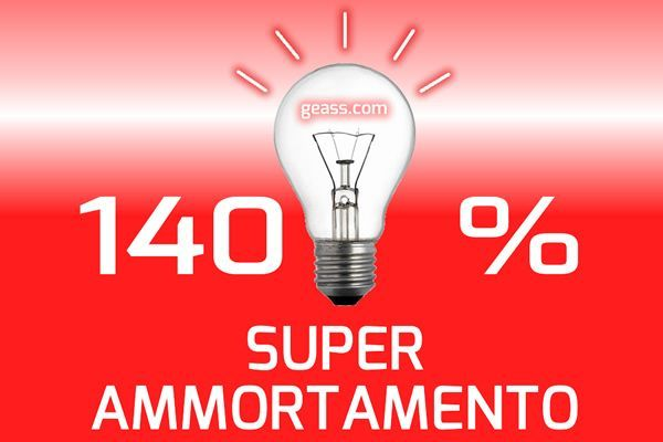 Super ammortamento beni strumentali 140% Geass Torino