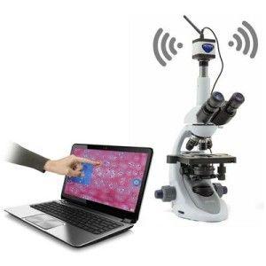 Telecamera per microscopio Optikam WIFI Geass