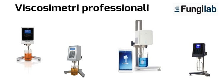 Viscosimetri rotazionali professionali Fungilab