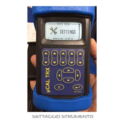 Calibratore TRX configurazione strumento geass