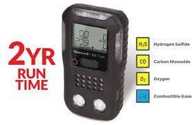 Rilevatore 4 gas pericolosi protezione personale BW Clip 4
