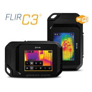Termocamera Flir C3 Ultra Compatta touch screen geass