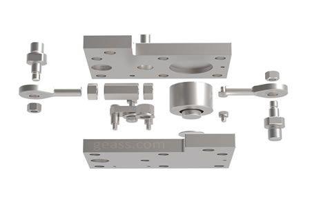 Kit di montaggio Celle di carico Minebea Intec PR6212 geass