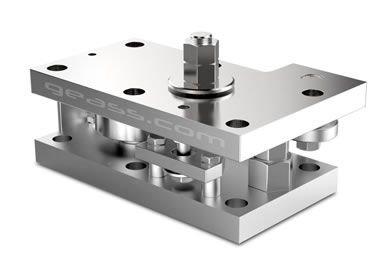 kit montaggio inox celle di carico Minebea intec PR6212 geass