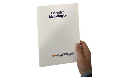 Libretto metrologico bilance omologate Verifica periodica Geass torino