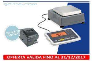 Omaggio stampante Minebea YDP21 con Bilancia Signum Geass torino