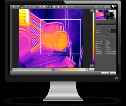 software pc per termografia
