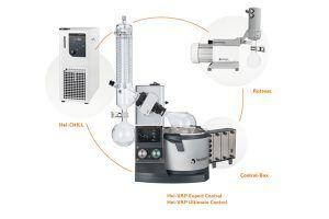 Evaporatore rotante Heidolph Hei-Vap Expert Control con controllo del vuoto