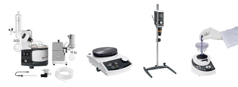 Prodotti Heidolph Evaporatore rotante Agitatore magnetico agitatore ad asta