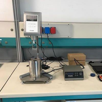 Viscosimetro per smaltimento rifiutiì caso applicativo Geass