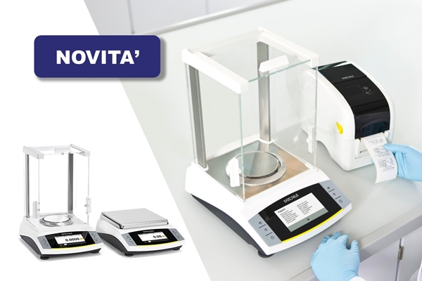 Sartorius Entris II novità Advanced Geass Torino